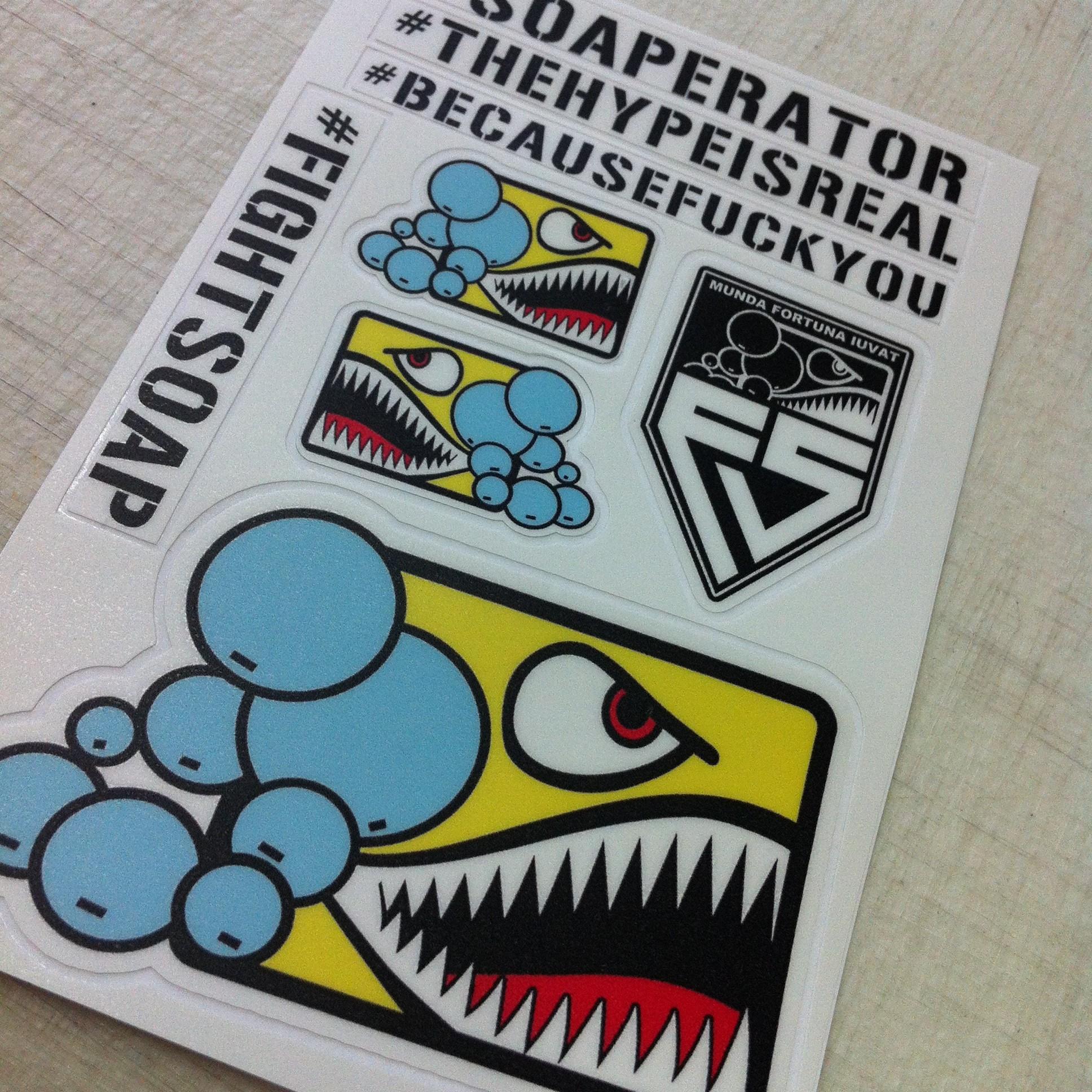 Kiss Cut Sticker Sheets Stick No Evil Custom Stickers DieCut - Custom die cut stickers vs regular stickers